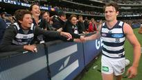 Star recruit Patrick Dangerfield helps Geelong Cats to grinding win over Hawthorn Hawks