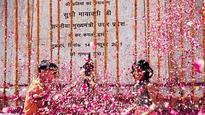 Visitors throng Noida memorial on Ambedkar birthday