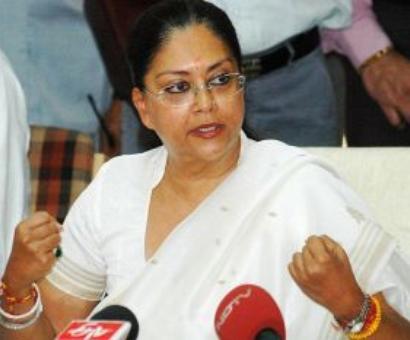 Rajasthan rebel MLA writes to Shah: 'Sack Raje in public interest'