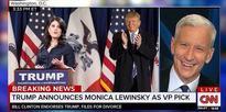 Trump Announces Monica Lewinsky as his VP Pick