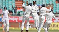 India beat England by 246 runs in 2nd cricket Test to take 1-0 lead in 5-match series