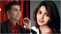 See pic: Alia Bhatt launches the new member of Karan Johar's family!