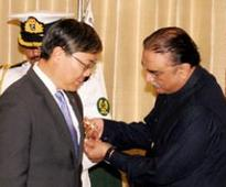 President confers Hilal-i-Quaid-i-Azam upon Chinese Ambassador Liu Jian
