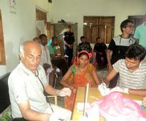 Dr Govinda KC continues serving Saptari flood victims