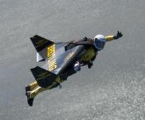 Bird? Plane? It's Jetman at EAA AirVenture Oshkosh 2013!