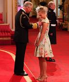 London 2012 Olympic and Paralympic heroes receive honours from Prince Charles