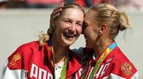 Russian women Ekaterina Makarova, Elena Vesnina win doubles gold