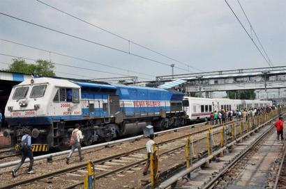 Spanish train runs at 110-115 kmph on UP tracks