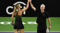 Sharapova returns to court