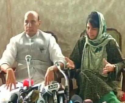 Can't think about India's future without Kashmir: Rajnath Singh in Kashmir