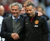 Mourinho 'ready' to see Giggs leave Man United this summer