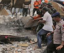 At least 97 dead and hundreds injured in Indonesian earthquake