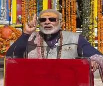 Narendra Modi in Kedarnath: Serving people is true service of lord