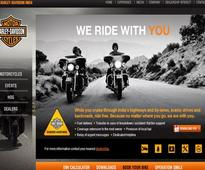 Harley Davidson introduces roadside help for Indian clients