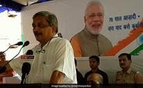 Manohar Parrikar Pays Tribute To Freedom Fighters In Andaman