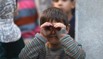 Thousands flee heavy fighting in Aleppo