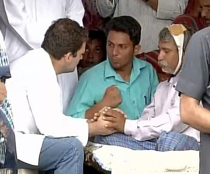 Rahul assures help to Dalits in Una as protests continue