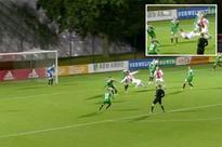 Ajax wonderkid Kaj Sierhuis tipped to follow Kluivert and Bergkamp after THIS strike