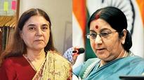 No more abuse! Maneka asks Sushma to help safeguard kids