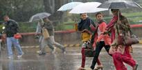 Rains lash parts of India, Banda sizzles at 45 deg C