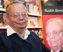 Once I had to buy my own book: Ruskin Bond