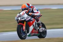 van der Mark rescues vital points on wrecked Honda