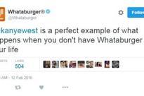 Whataburger blasts Kanye West on Twitter