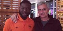 EUROPA LEAGUE: Steaua Bucharesti star Minuri Sulley meets Manchester United manager Mourinho ahead of City clash