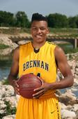 E-N Area Boys Basketball Player of the Year: George King of Brennan