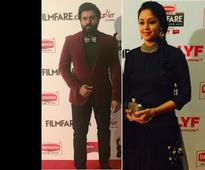 Nivin Pauly's fanboy moment picture with Jyothika during Filmfare South Awards goes viral [PHOTO]