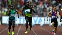 Usain Bolt holds on to win 100 metres at one last Golden Spike meeting