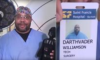This Real-Life Darth Vader Works As A Force Of Good At A Tennessee Hospital