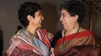 See pics| Aamir Khan's wife Kiran Rao and ex-wife Reena Dutta bond at Paani Foundation event