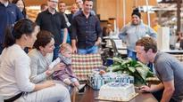 Facebook CEO Mark Zuckerberg celebrates 32nd birthday with daughter Max