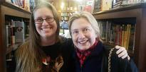Hillary Clinton Spotted at a Bookstore