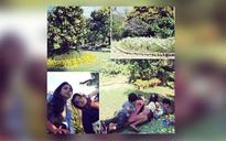 SEE PIC: Twinkle Khanna's holiday time with kids Nitara and Aarav in Dehradun