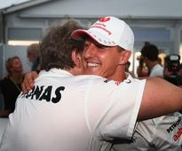 Health updates continue to be scarce with most feting Michael Schumacher and his accomplishments.
