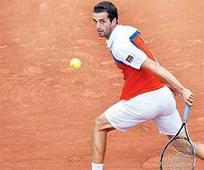 Spanish left-hander in quarters but it's not Nadal