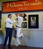 Kapil Dev's wax figure unveiled for Madame Tussauds in Delhi