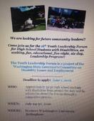 Youth Leadership Forum for disabled students accepting applications now