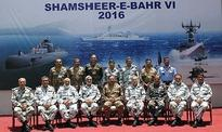 Pakistan Navy holds biennial war games
