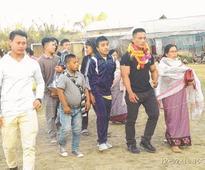 Mr Junior L Naresh felicitated