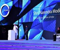 Prime Minister Narendra Modi attends 90 years celebrations of the Essel Group