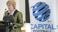 Soccer: Capital Football chief executive Heather Reid stands down after 12 years