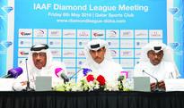 Stellar line-up set for IDL Doha 2016 FROM LEFT: President of Qatar Athletics Federation (QAF), Dahlan Al Hamad, G...