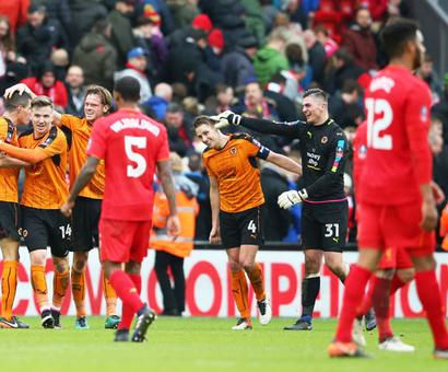 FA Cup PHOTOS: Liverpool stunned by Wolves