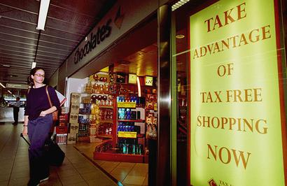 What should the duty-free shops do now