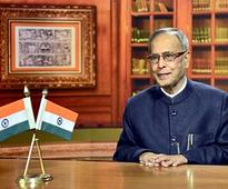 Read President Pranab Mukherjee's lips; isn't he saying budget won't be postponed?