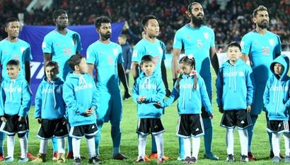 India football team's 13-match unbeaten run ends