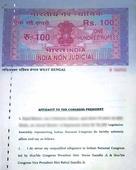 Bengal Congress MLAs sign undertaking: I swear allegiance to Sonia, Rahul ji